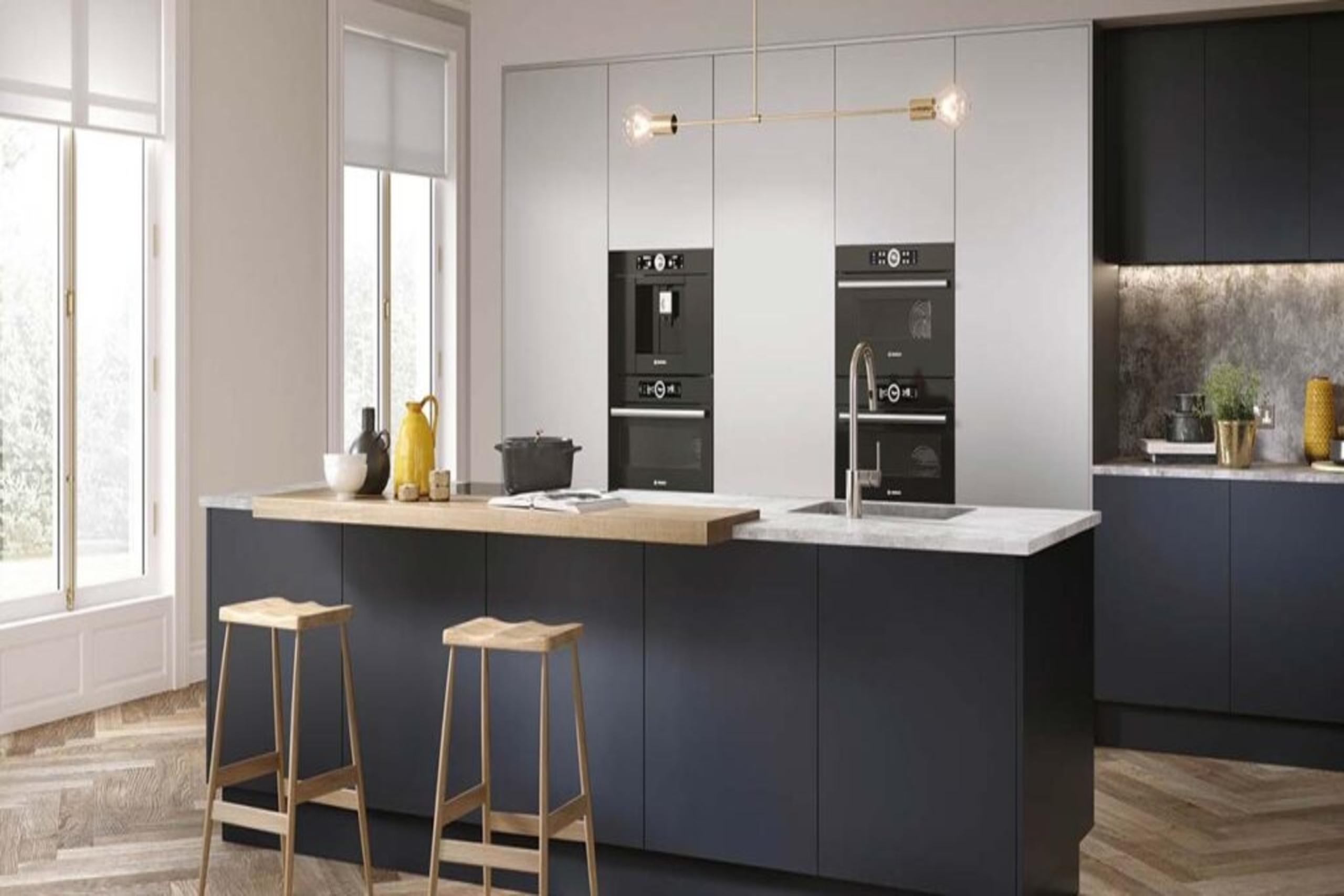 DKB Indigo blue kitchen