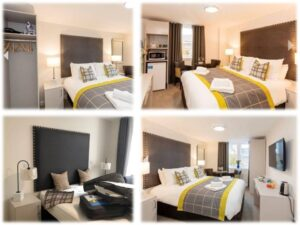 edinburgh hotel fitted bedrooms