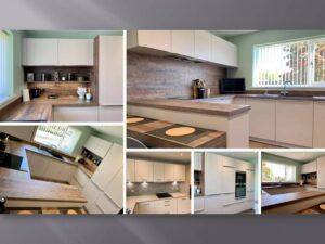 halifax oak kitchen