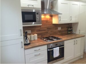 ivory and oak fitted kitchen