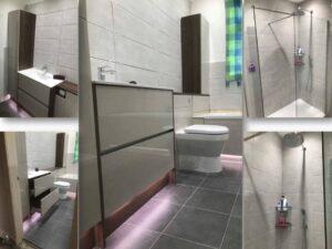 kaizen handleless bathroom units