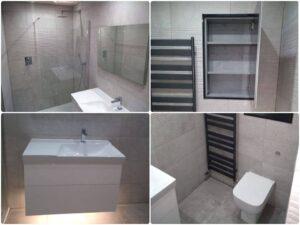 stonehouse bathroom - porcelanosa tiles