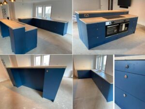 kaizen blue kitchen
