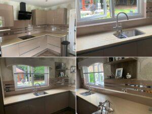 acrylic mocha kitchen