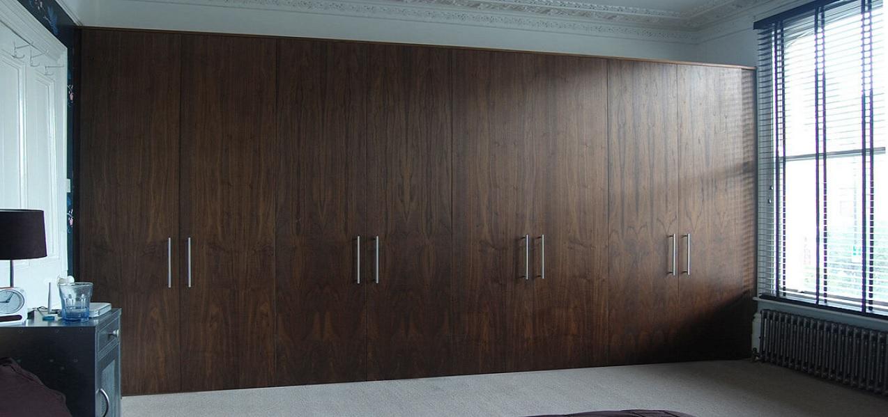 walnut wardrobes